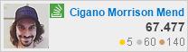 perfil de Cigano Morrison Mendez em Stack Overflow em Português, é um site de perguntas e respostas para programadores profissionais e entusiastas