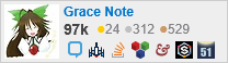 profile for Grace Note on Stack Exchange, a network of free, community-driven Q&A sites