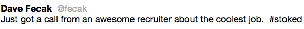 recruiter spam