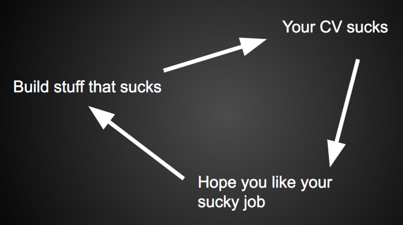 The cycle of suck