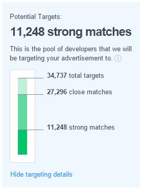 Potenial Targets Widget