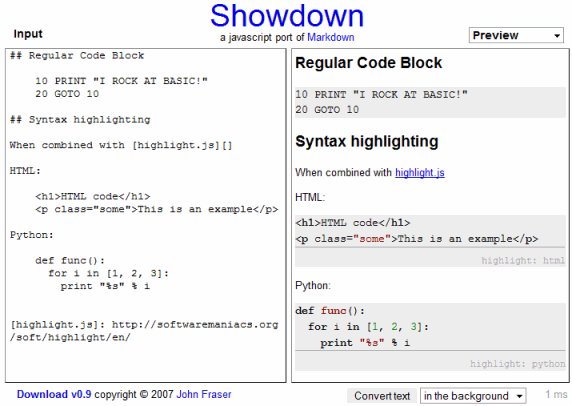 showdown-demo