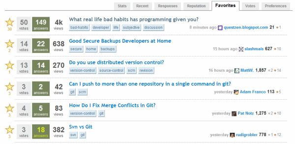 stackoverflow-favorites