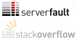 stackoverflow-serverfault-logos