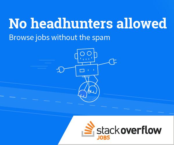 Developer Jobs Programming Jobs More Stack Overflow