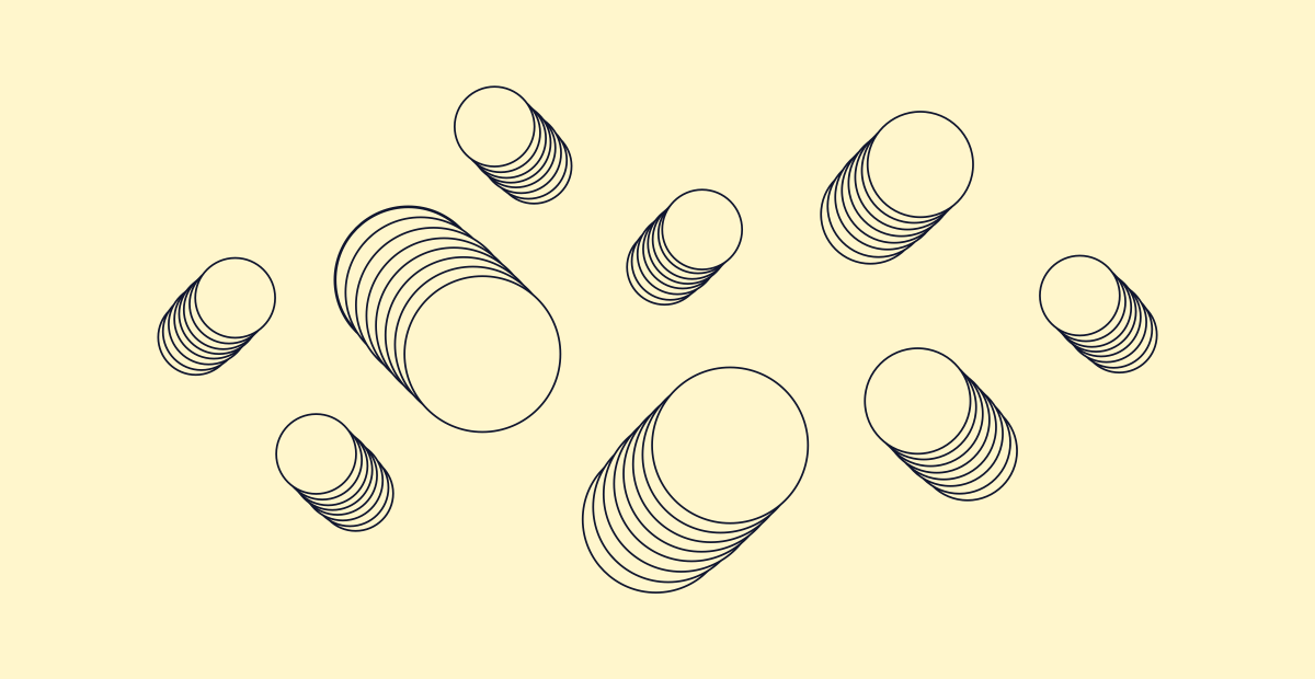 series of stacked circles